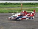 sp3混成軌道さんが、岡南飛行場で撮影した熊本県防災消防航空隊 AS365N3 Dauphin 2の航空フォト(写真)