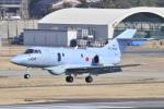 Orange linerさんが、名古屋飛行場で撮影した航空自衛隊 U-125A(Hawker 800)の航空フォト(写真)