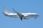 zettaishinさんが、ジェネラル・エドワード・ローレンス・ローガン国際空港で撮影したロイヤル・ジェット 737-77W BBJの航空フォト(写真)
