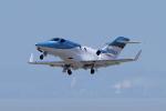 yabyanさんが、中部国際空港で撮影したホンダ・エアクラフト・カンパニー HA-420の航空フォト(飛行機 写真・画像)