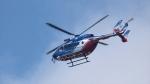 撮り撮り人さんが、岡山空港で撮影した大分県防災航空隊 BK117C-2の航空フォト(写真)