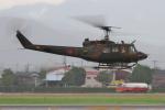 サボリーマンさんが、松山空港で撮影した陸上自衛隊 UH-1Jの航空フォト(写真)