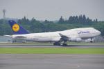 ちゃぽんさんが、成田国際空港で撮影したルフトハンザドイツ航空 747-430の航空フォト(写真)