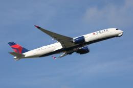 VEZEL 1500Xさんが、成田国際空港で撮影したデルタ航空 A350-941XWBの航空フォト(写真)