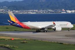 キイロイトリさんが、関西国際空港で撮影したアシアナ航空 A350-941XWBの航空フォト(写真)