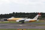 ハム太郎。さんが、成田国際空港で撮影したノックスクート 777-212/ERの航空フォト(写真)