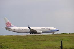 gーUーさんが、石垣空港で撮影したチャイナエアライン 737-8Q8の航空フォト(飛行機 写真・画像)