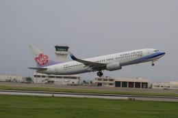 gーUーさんが、石垣空港で撮影したチャイナエアライン 737-809の航空フォト(飛行機 写真・画像)