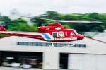 NCT310さんが、調布飛行場で撮影した静岡市消防航空隊 412EPの航空フォト(写真)