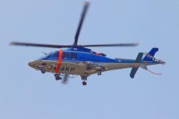 ふるちゃんさんが、厚木飛行場で撮影した神奈川県警察 AW109SPの航空フォト(飛行機 写真・画像)