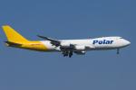 mameshibaさんが、成田国際空港で撮影したポーラーエアカーゴ 747-87UF/SCDの航空フォト(写真)