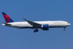 mameshibaさんが、成田国際空港で撮影したデルタ航空 777-232/LRの航空フォト(写真)