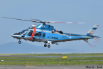 れんしさんが、山口宇部空港で撮影した山口県警察 A109E Powerの航空フォト(写真)