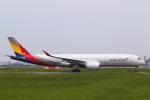 keks34さんが、福岡空港で撮影したアシアナ航空 A350-941XWBの航空フォト(写真)