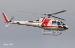 RINA-200さんが、富山空港で撮影した朝日航洋 AS350B3 Ecureuilの航空フォト(写真)
