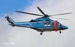 RINA-200さんが、富山空港で撮影した富山県警察 AW139の航空フォト(写真)