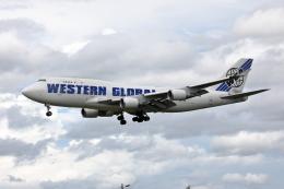 VEZEL 1500Xさんが、成田国際空港で撮影したウエスタン・グローバル・エアラインズ 747-446(BCF)の航空フォト(写真)