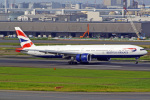 tkosadaさんが、羽田空港で撮影したブリティッシュ・エアウェイズ 777-336/ERの航空フォト(写真)
