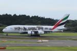 まっさんさんが、成田国際空港で撮影したエミレーツ航空 A380-861の航空フォト(写真)