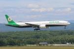 タンちゃんさんが、新千歳空港で撮影したエバー航空 777-36N/ERの航空フォト(写真)