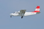 南国の防人さんが、那覇空港で撮影した第一航空 BN-2B-20 Islanderの航空フォト(写真)