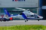 kaeru6006さんが、東京ヘリポートで撮影したオールニッポンヘリコプター AS365N3 Dauphin 2の航空フォト(写真)