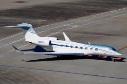 飛行機ゆうちゃんさんが、羽田空港で撮影したウィルミントン・トラスト・カンパニー G650 (G-VI)の航空フォト(飛行機 写真・画像)