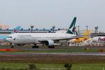 funi9280さんが、成田国際空港で撮影したキャセイパシフィック航空 777-367の航空フォト(飛行機 写真・画像)