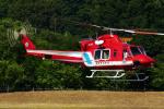 Flankerさんが、調布飛行場で撮影した静岡市消防航空隊 412EPの航空フォト(写真)
