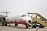 ぽっぽさんが、台中空港で撮影した遠東航空 MD-82 (DC-9-82)の航空フォト(写真)