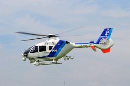 ヘリオスさんが、東京ヘリポートで撮影したオールニッポンヘリコプター EC135T2の航空フォト(飛行機 写真・画像)