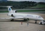 marariaさんが、青森空港で撮影したダリアビア航空 Tu-154Mの航空フォト(写真)