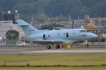 デルタおA330さんが、横田基地で撮影した航空自衛隊 U-125A(Hawker 800)の航空フォト(写真)