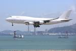 安芸あすかさんが、香港国際空港で撮影したアトラス航空 747-45E(BDSF)の航空フォト(写真)