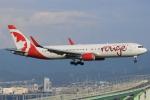 キイロイトリさんが、関西国際空港で撮影したエア・カナダ・ルージュ 767-36N/ERの航空フォト(写真)