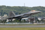 RCH8607さんが、横田基地で撮影したアメリカ空軍 F-22A Raptorの航空フォト(写真)