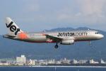キイロイトリさんが、関西国際空港で撮影したジェットスター・アジア A320-232の航空フォト(写真)