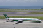 yabyanさんが、中部国際空港で撮影したエバー航空 MD-90-30の航空フォト(飛行機 写真・画像)