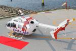 せぷてんばーさんが、海ほたるパーキングエリアヘリポートで撮影したセントラルヘリコプターサービス BK117C-2の航空フォト(写真)