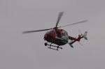 ぷぅちゃんさんが、岡南飛行場で撮影した岡山市消防航空隊 BK117C-2の航空フォト(写真)