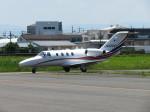 見習いカメラマンえつしさんが、八尾空港で撮影したグラフィック 525A Citation CJ1の航空フォト(写真)
