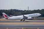 ぱん_くまさんが、成田国際空港で撮影したスリランカ航空 A330-343Eの航空フォト(写真)
