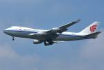 なかよし号さんが、成田国際空港で撮影した中国国際貨運航空 747-412F/SCDの航空フォト(写真)