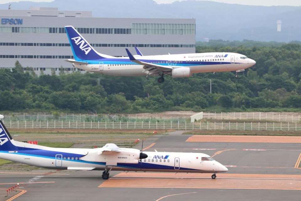 funi9280さんの全日空 Boeing 737-800 (JA56AN) 航空フォト