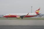 きんめいさんが、関西国際空港で撮影した雲南祥鵬航空 737-8MBの航空フォト(写真)