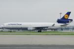 きんめいさんが、関西国際空港で撮影したルフトハンザ・カーゴ MD-11Fの航空フォト(写真)