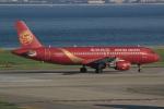 キイロイトリさんが、関西国際空港で撮影した吉祥航空 A320-214の航空フォト(写真)