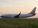 けんA380さんが、高松空港で撮影したチャイナエアライン 737-8ALの航空フォト(写真)