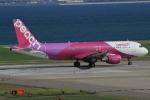 キイロイトリさんが、関西国際空港で撮影したピーチ A320-214の航空フォト(写真)