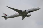 OMAさんが、成田国際空港で撮影したマレーシア航空 A350-941XWBの航空フォト(写真)
